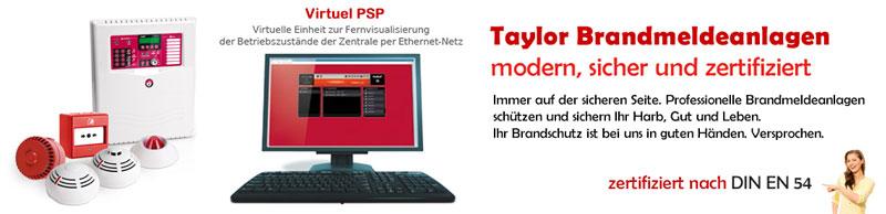Bevorzugt Taylor Ahauser Gefahrensysteme Produkte Brandmeldeanlagen - Taylor DS79